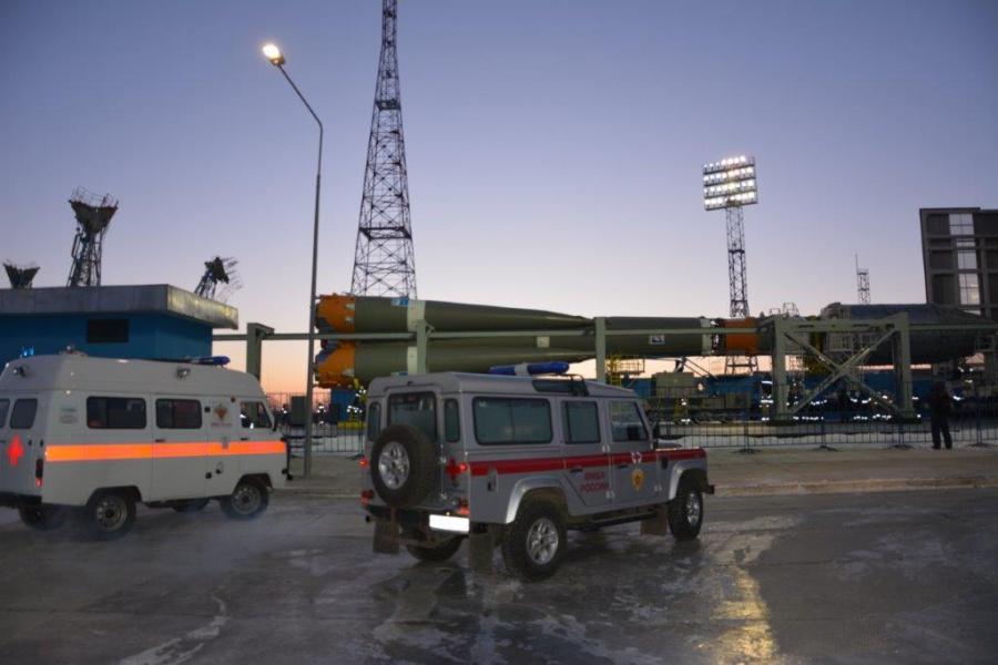 Медицинское сопровождение запуска ракеты-носителя «Союз-2.1б» с космодрома «Восточный»